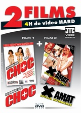 2 films : Infirmires de choc + X amat infirmires