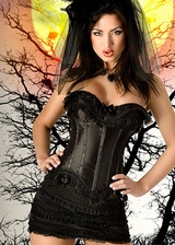 Ensemble corset Dark Angel