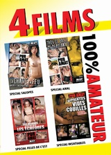 Pack 4 films MST amateur n�8
