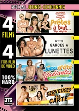 4 films sp Jeunes cochonnes
