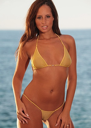 lingerie Bikini Palm Beach Gold